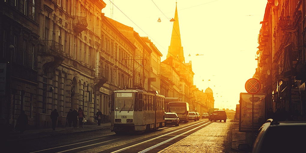 трамвайная экскурия львов